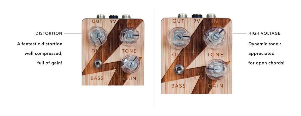 ANASOUNDS - HIGH VOLTAGE | Plexi distortion pedal
