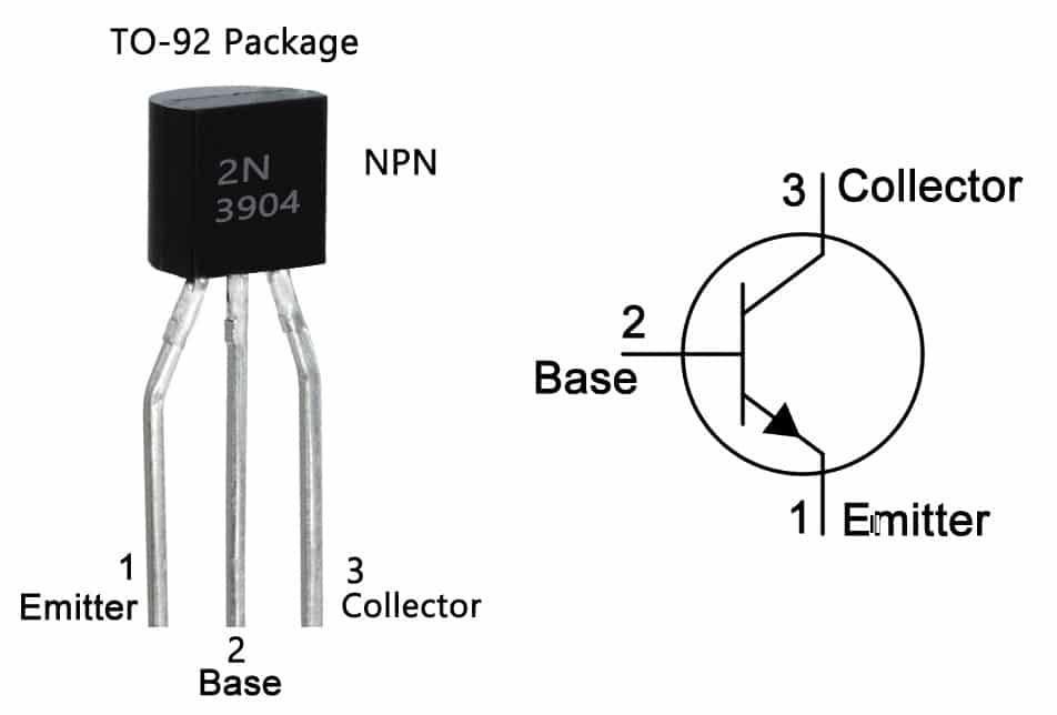 transistors pinout