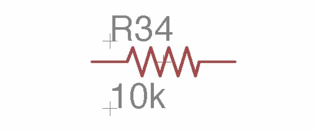 resistor symbole
