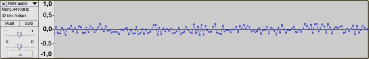 Bruit blanc temporel