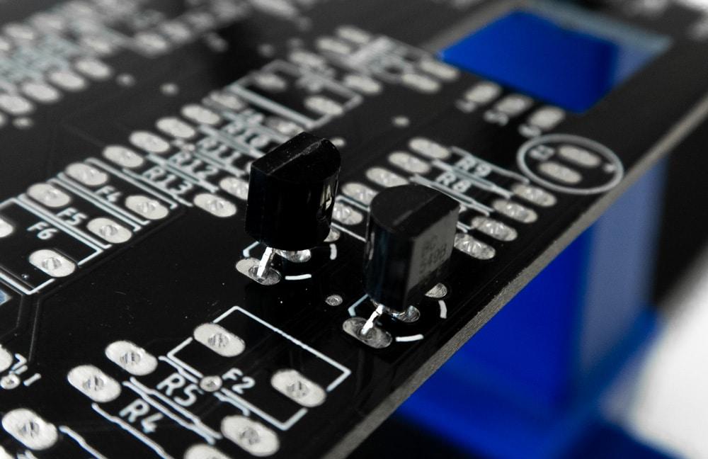 reversed transistor