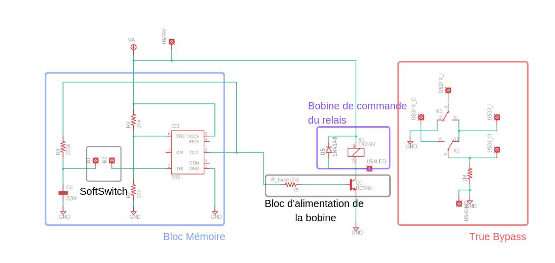 Schema bloc relay